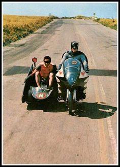 Batman and Robin Adam West and Burt Ward