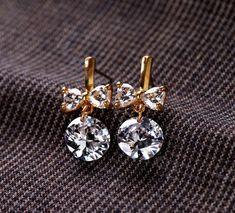 Best trends for Feminine Zirconia Dangle Earrings, posted on June 2014 in Wedding Jewelry Cute Jewelry, Jewelry Accessories, Fashion Accessories, Fashion Jewelry, Jewlery, Jewelry Necklaces, Teen Jewelry, Macrame Jewelry, Gemstone Bracelets