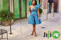 Ankara empire sleeve crop top and bubble skirt set Bubble Skirt, Ankara Styles, African Fashion, Skirt Set, Empire, Strapless Dress, Dress Up, Crop Tops, Hot