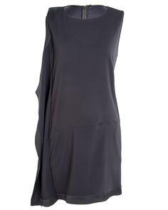 Roberto Cavalli Black Beaded Cocktail Dress