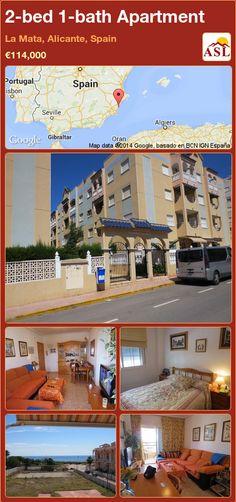 2-bed 1-bath Apartment in La Mata, Alicante, Spain ►€114,000 #PropertyForSaleInSpain