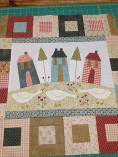Bluebird Lane BOM Complete Pattern Set - by The BirdhouseSECONDARY_SECTION$55.00: Fabric Patch: Patchwork Quilting fabrics, Moda fabric, Quilt Supplies,�Patterns