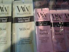 Wood Wick Wax Melts- New Scents!
