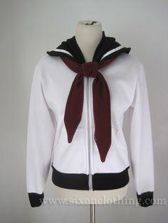 Sailor Pluto Seifuku Hoodie