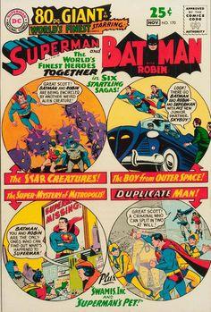 World's Finest Comics #170 Superman and Batman  comic book cover