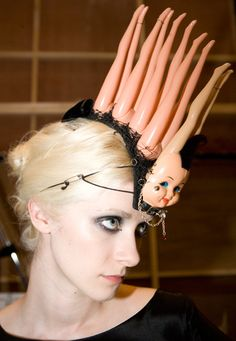Stephen Jones, Millinery in Motion, April 2009