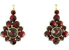 garnet earrings - Google Search
