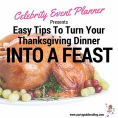 If you foresee your Thanksgiving dinner as a huge ordeal, give that cranium A WHACK to flush out those creative juices! The Party Goddess! Marley Majcher unwraps some easy, fun tips for your Thanksgiving feast here: http://www.thepartygoddess.com/2014/11/easy-tips-to-turn-your-thanksgiving-dinner-into-a-feast/ #thepartygoddess #marleymajcher #thanksgiving #dinner #party #holiday #feast