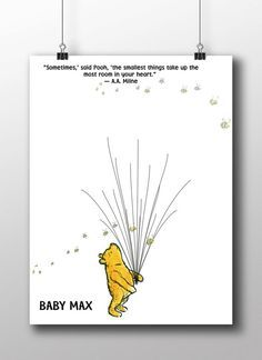 Winnie the pooh finger prints Winnie The by SerendipityPaperieUK