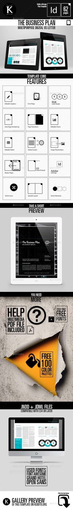 Modern Tablet Template - Vol1 Graphics and Presentation templates - free break even analysis template