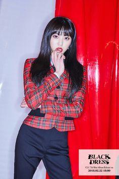 CLC Eunbin - 'Black Dress' Teaser Image