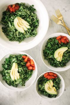 Pesto Kale Salad | 27 Delicious Low-Carb Dinners For Spring