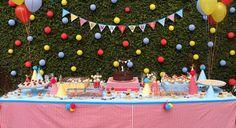 circo | decoração de festas | minimimo festas