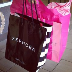 Shopping happiness! I could get into big trouble at Sephora. This would have to be its own board lol