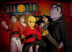 Xiaolin Showdown... Gotta love Deviantart.