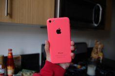 Iphone 5c. ♡ love it just got one