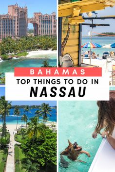 The Nassau Travel Guide: Discover the top things to do in Nassau Bahamas. The ultimate guide for families, travellers and cruise ship day trippers Caribbean Vacations, Beach Vacations, Rum Tasting, Beach Trip, Beach Travel, Nassau Bahamas, Cruise Port, Top Travel Destinations, Worldwide Travel