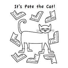 Pete the Cat Free Printables | http://www.heidisongs.com ...