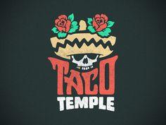 Taco Temple Logo  byChris Canterbury