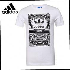 52.79$  Buy here - http://alim9o.worldwells.pw/go.php?t=32707714877 - Original New Arrival 2016 Adidas Originals Men's T-shirts short sleeve Sportswear  52.79$