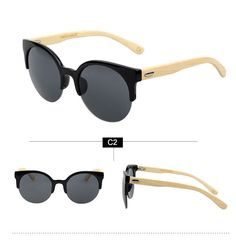 Eyewear Type: SunglassesItem Type: EyewearDepartment Name: AdultBrand Name: new brandGender: WomenStyle: Cat EyeLenses Optical Attribute: GradientFrame Material: WoodenFrame Color: BlackFrame Color: BrownFrame Color: MultiLens Width: 5.2 cmLens Height: 5.3 cmLenses Material: PolycarbonateModel Number: men & women sunglassesColor: MulticolorStyle: FashionDate: New 2014Temple Length: 135MMSG Wide: 140MM | Shop this product here: spreesy.com/seyemamefashion/66 | Shop all of our products at…