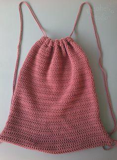 crochet backpack on Pinterest   Backpacks, Backpack Pattern and ...