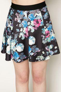 Floral Skater Skirt @ Everything5pounds.com