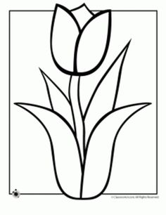 Spring Flowers Coloring Pages >> Disney Coloring Pages