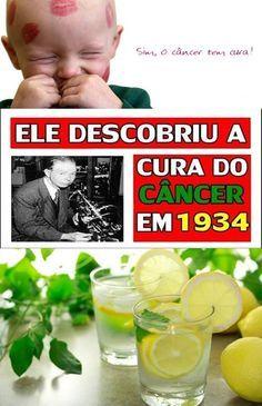 Existe cura para o câncer desde 1923. Mas você não sabe porque isso foi escondido #cancer #temcura #vocenaosabia #saude #bemestar