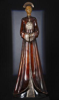 La première épouse  (c) Deville-Chabrolle Sculptures 2011 - Collection Orients    //  www.deville-chabrolle.com
