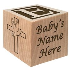 Babys First Easter Gift 2017 Personalized Block Easter Gift Custom Engraved Wooden Baby Block for Boy and Girl Choose Image Easter Basket Bunny Egg He is Risen My First Easter Cross >>> Learn more by visiting the image link. First Fathers Day Gifts, Fathers Day Presents, New Baby Gifts, Gifts For Kids, Baby Presents, Cyber Monday, Catholic Baptism Gifts, Wooden Baby Blocks, Wood Blocks