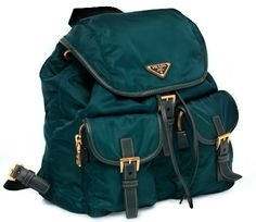 Prada Backpackn in Teal