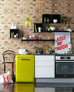 In the Kitchen: Retro Modern Smeg | East to West