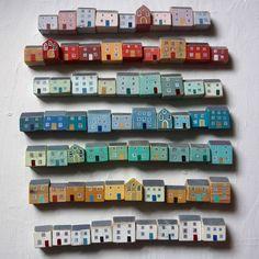 Valériane Leblond I love how its like a whole neighbourhood of houses and how its colour coded