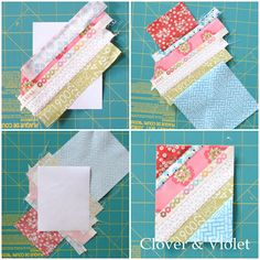 Clover & Violet — Sewing with Selvages {Tutorial}