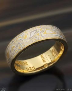 Here is a sample mokume wedding band in our Summer Mokume Gane. With so many mokume flavors to choose from, you are sure to have a favorite!