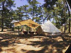 お久しぶりなキャンプの朝。 #camp #キャンプ #camping #ベルテント #belltent #camvascamp #sibley500 #helinox #ヘリノックス #evrgrn - 2yoshi