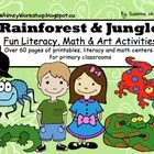 This is a 60 page comprehensive balanced literacy and math unit with a Rainforest Animals theme. It's ready to print. laminate and use immediately!...