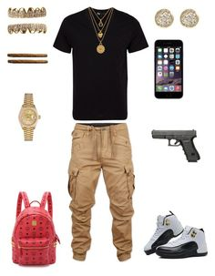 """Burn One"" by leonar-287 ❤ liked on Polyvore featuring Y-3, Juicy Couture, G-Star Raw, Rolex, Jamie Wolf, TAXI, MCM, men's fashion and menswear"