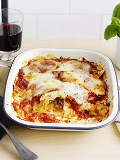 Cheat's lasagne - All the comfort of a lasagne but with very little effort; our cheat's lasagne uses a clever buy to make it achievable mid-week.