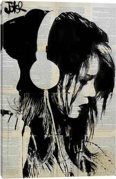 Melodies Solace by Loui Jover Art Print