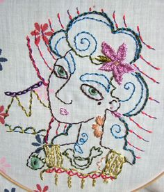 Bogg's Blog  Really unique and creative embroidery from a great blog with lovely illustrations etc.