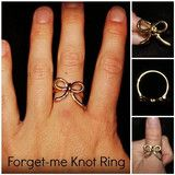Forget-Me Knot Ring