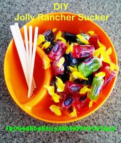 Jolly Rancher Suckers-diy