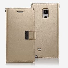 Goospery Galaxy Note 4 Case [Rich Diary] Wallet Journal Case #SamsungGalaxyNote4 #GalaxyNote4