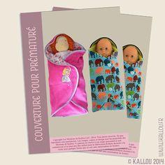couverture pour bebe prema ou poupee