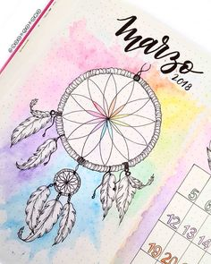 dream catcher bullet journal inspiration Thinking about creating something more BoHo for your bullet journal? These Dream Catcher Bullet Journal ideas will take it to the next level! Bullet Journal School, Bullet Journal Tracker, Bullet Journal Inspo, Bullet Journal Tumblr, Bullet Journal Aesthetic, Bullet Journal Notebook, Bullet Journal Ideas Pages, Bullet Journal Spread, Bullet Journal Layout
