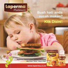 LAPERMA PLATINUM Atasi Susah Makan