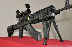 SAIGA AK 47 SPETSNAZ TACTICAL SERIES AK47 BANNED : Semi Auto Rifles at GunBroker.com