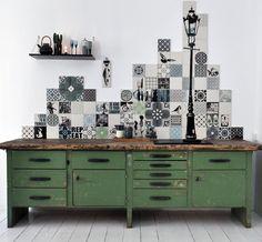 Køkken fliser – Sammensæt din egen flise mosaik fra ARTTILES